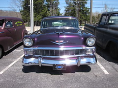 Blackjax Bar 4/10/2016 1956 Chevy Wagon (Speeder1) Tags: show street cruise two hot classic ford chevrolet car bar wagon rat purple pennsylvania muscle pa lane tavern rod 1956 55 goons aces 56 willys gasket blacktop eights birdsboro blackjax