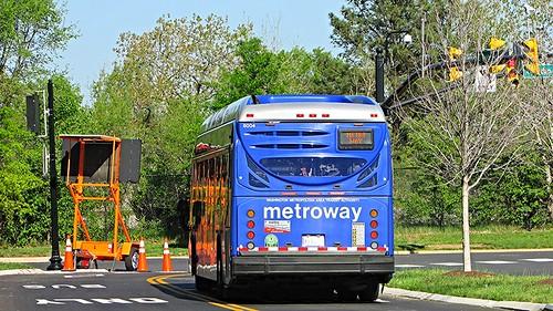 WMATA Metroway 2014 NABI 42 BRT Hybrid #8004