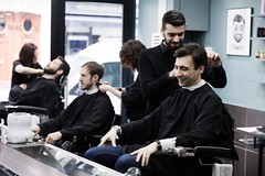 _T8A6887bd (labarbiredeparis) Tags: paris france art face sarah hair beard goatee moustache barbershop beaut barber salon innovation coiffeur barbe soin 1er extensions barbu coiffure capelli excellence masculin cheveux rasoir rasage 9e taille rase barbier shampooing condorcet coupechou barbiere coiffe bouc ras esthtique bertin pilation facehair poire barbire labarbiredeparis danielhamizi