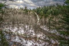 151225-11 Chutes de la Petite-Bostonnais (clamato39) Tags: sky snow canada water eau ciel waterfalls qubec neige arbre fort latuque chutesdelapetitebostonnais