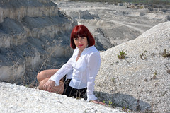 DCS_0001 (dmitriy1968) Tags: portrait cliff nature girl beautiful erotic outdoor wife quarry    sexsual