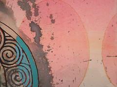 DSC09457 (scott_waterman) Tags: detail ink watercolor painting paper lotus gouache lotusflower scottwaterman