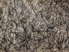 Number 1 A1, 1948 - Jackson Pollock - The Moma - Midtown Manhattan - New York City - April 2016 (jeanyvesriou1) Tags: newyorkcity art museum painting muse peinture museo dripping pintura jacksonpollock midtownmanhattan abstractexpressionism themuseumofmodernart expressionnismeabstrait themoma muse