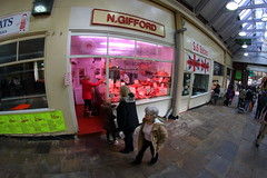 IMG_6829 (Lee Collings Photography) Tags: market leeds indoor fisheye april 8mm westyorkshire 2304 fisheyelens leedsmarket samyang leedscitycentre leedskirkgatemarket samyang8mm marketleeds 23042016