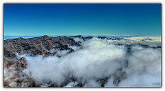 Por las nubes (etoma) Tags: caldera nubes lapalma teide islascanarias roques muchachos taburiente