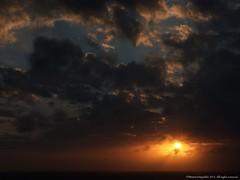 Amancer Guajira (Ivan Mauricio Agudelo Velasquez) Tags: sea sky cloud sun sol sunrise dawn mar colombia amanecer cielo infinito nube horizonte caribe