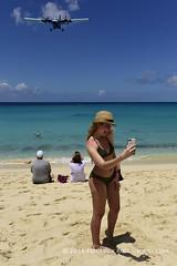 Say Ahhh ... ( Freddie) Tags: beach sunsetbeach stmaarten maho sxm sintmaarten selfie mahobeach princessjulianainternationalairport dutchcaribbean sxmtncm thefriendlyisland fjroll