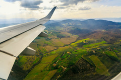 Into the fairytale (Arutemu) Tags: italy window plane canon airplane florence europe italia view aircraft eu aerial tuscany vista firenze toscana airborne  birdseyeview airtravel 6d     eos6d canon6d