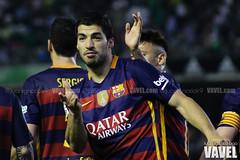 Betis - Barcelona 108 (VAVEL Espaa (www.vavel.com)) Tags: fotos bara rbb fcb betis 2016 fotogaleria vavel futbolclubbarcelona primeradivision realbetisbalompie ligabbva luissuarez betisvavel barcelonavavel fotosvavel juanignaciolechuga