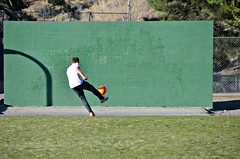 Kickwall (Pedestrian Photographer) Tags: california park school orange wrightwood cali wall ball march mar kick croquet elementary ribbet 2016 dsc0357bdsc0357