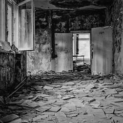 Schulaus (naturalbornclimber) Tags: urban bw decay radiation nuclear ukraine hasselblad disaster medium format exploration bnw zone chernobyl exclusion urbex tschernobyl pripyat hasselblad503cx prypjat