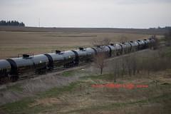 UTLX tanks (eslade4) Tags: tankcars ple excnw iarr iowariverrailroad exmstl pinelakeethanol exiac
