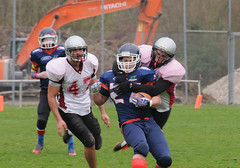 20160403_Avalanches Annecy Vs Falcons Bron (7 sur 51) (calace74) Tags: france annecy sport foot division falcons bron amricain avalanches rgional