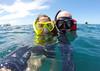 Whale shark selfie. Donsol (Laura Jacobsen) Tags: philippines whaleshark bicol luzon bicolandia donsol butanding