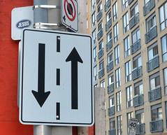 Jesus in the city (mcfcrandall) Tags: signs toronto jesus stickers arrows streetsigns condos topw twowaystreet torontophotowalks topwptbf
