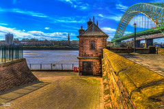 There was a time.... (Kevin From Manchester) Tags: bridge england architecture clouds waterfront cheshire northwest promenade 1855mm archways hdr waterways runcorn widnes rivermersey canon1855mm runcornbridge kevinwalker