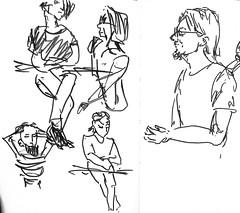 1508 ( ) Tags: people ink 365 sketches brushpen     lectoroom