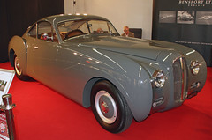 Streamlined Bentley (The Rubberbandman) Tags: old uk england english classic car vintage germany grey la essen britain body great gray german r type techno vehicle british streamlined coupe bentley coup sarthe classica