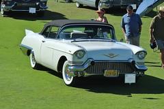 23rd Annual Palos Verdes Concours d'Elegance (USautos98) Tags: convertible cadillac eldorado 1957 biarritz caddy caddie