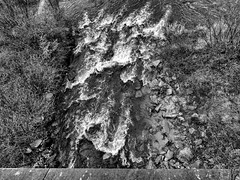 LA DORE (didi tokaoui) Tags: white black water river la photo eau noir riviere and et didi blanc auvergne dore thiers tokaoui