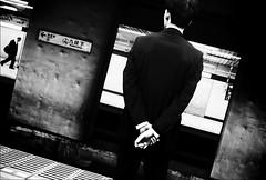 Tokyo  (Eug3nio) Tags: street city people bw japan subway tokyo asia metro japon giappone monochromia