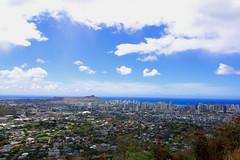 Diamond Head and Honolulu (iecharleton) Tags: seascape hawaii coast diamondhead coastline honolulu d3300