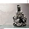 清 德化窑观音像 南宋官窑博物馆 (kingkyyy) Tags: 静物 摄影 博物馆 展览 观音 文物 清 德化窑