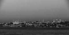 A photo from Istanbul view (rumuzlu) Tags: blue sea white black istanbul mosque deniz beyaz sophia bosphorus sultanahmet ayasofya kadky haghia siyah