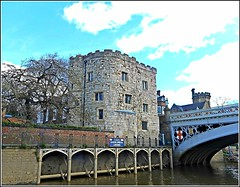 Lendal Tower in York. (** Janets Photos **) Tags: york uk history buildings towers medieval rivers