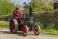 Spring Steam (Kev Gregory (General)) Tags: show sun flower colour public gardens shopping model events centre year sunday traction engineering run exhibit off hobby steam engines april third held visitors gregory kev 24th each spalding themselves 2016 neighbouring springfields steam run