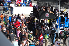 Crowd Gathers Near Kevin Harvick Pit Stall (cjacobs53) Tags: auto california car club race speed fast nascar jacobs fontana rancho speedway cucamonga jacobsusa