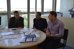 Secretrio com o presidente da CGTEE Francisco Romrio (Lucas Redecker) Tags: sme secretrio cgtee lucasredecker
