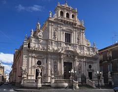 Basilica di S. Sebastiano, Acireale (diocrio) Tags: italia iglesia chiesa sicilia acireale basilicadissebastiano