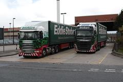 H6890 H4076 (Barrytaxi) Tags: yorkshire transport wakefield eddie stobart eddiestobart