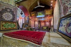 Carpets at Bazaar-e Vakil (T   J ) Tags: iran fujifilm shiraz xt1 teeje fujinon1024mmf4
