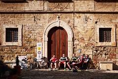 Riposo (FilippoMarchi) Tags: relax italia it riposo ciclista biker montepulciano toscana