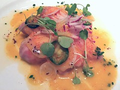(LaTur) Tags: restaurant salmon dcist ceviche foodie eater delcampo popville