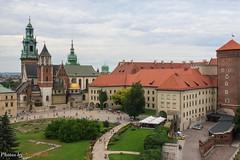 Krakow Castle (neal.walker) Tags: travel summer tower castle church gardens outdoor poland krakow daytime easterneurope 2015 castlegrounds castlechurch krakowcastle