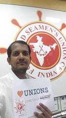 Sushil Deorukhar, FSUI, Forward Seamens Union of India (nautilus.international) Tags: india sushi photo union competition mumbai forward nautilus tuc seamens fsui heartunions ldeorukhar fsuiindia