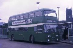 MHL184F (21c101) Tags: 1969 1968 roe busstation daimler fleetline 184 castleford westriding mhl184f