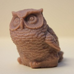 Owl $3.00 (Clelian Heights) Tags: animals owl soaps unscented decorativesoaps cleliansoaps