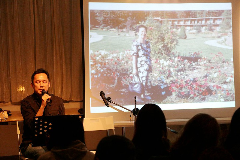安祖在樹樂集的詩歌吟唱會101