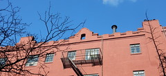 2016_01_13_0003Flickr (TheMachineStops) Tags: nyc newyorkcity red building architecture outdoor manhattan westvillage bluesky 2016 azulcielo