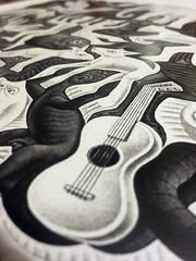 Escher_ (_Sarocchia_) Tags: macro canon arte zoom ombre musica luci escher chiaroscuro bianconero chitarra