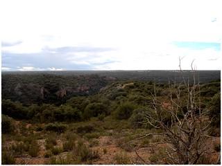 Vistas del altiplano del Campo de Montiel