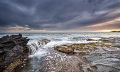 Playa natural Calblanque (valero28) Tags: longexposure sea seascape beach marina landscape mar nikon playa paisaje filter d750 cartagena seda cala largaexposicin calblanque lucroit sergiovalero hitechinverse09
