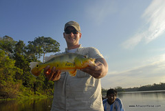 Another happy angler with Amazon Expeditions