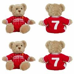 ตุ๊กตาหมีลิเวอร์พูลของแท้ ตุ๊กตาหมีในชุดเสื้อลิเวอร์พูลรีทโรย้อนยุค ด้านหลังเสื้อติดเลข 7 ดูรายละเอียดสินค้าที่หน้าเว็บ http://www.liverpoolfanshop.com/product/4503 #เสื้อลิเวอร์พูลย้อนยุค #ตุ๊กตาหมีลิเวอร์พูล #ตุ๊กตาลิเวอร์พูลของแท้ #eurosportdirect #liv