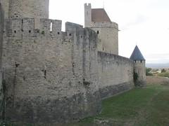 2010 09 08 Francia - Linguadoca Rossiglione - Carcassonne_0791 (Kapo Konga) Tags: mura francia carcassonne ferie languedocroussillon 2star citta cittamedievale