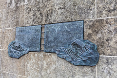 Memorial Plaque: Ships of Colonists 9807 (Ursula in Aus) Tags: cruise germany bavaria europe unesco regensburg vikingdelling